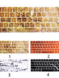 Недорогие -us english силиконовая клавиатура крышка из дерева с мраморным покрытием совместима с macbook air 11 13 15 / сетчатка 12 / про 13 15 / сетчатка 13 15