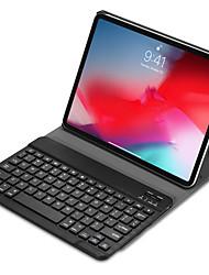Недорогие -клавиатура bluetooth ipad pro 11 с магнитной умной стойкой крышки pu trifold