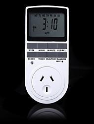 Недорогие -электронный цифровой таймер 24 часа циклический au br fr вилка кухонный таймер розетка программируемая розетка 220 В