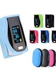 Недорогие -Pro-F9 красный + серый пульсоксиметр пальца, сердцебиение в 1 мин. монитор насыщения пульс сердечный ритм кислород крови одобрение spo2 ce