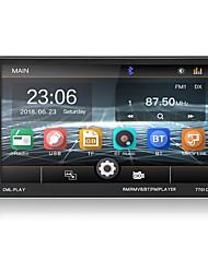 Недорогие -автомагнитола bluetooth 7 с сенсорным экраном bt hands-free aux usb fm автозвук управление рулем mp5 player autoradio 2 din