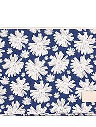 """Недорогие -Ткань """"Оксфорд"""" Молнии Чехол для ноутбука Геометрический принт Повседневные Бледно-синий"""