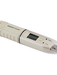 Недорогие -жк-влажность температуры данных регистратор USB цифровой температуры влажности рекордер авто рекордер