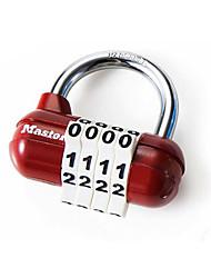 Недорогие -1523MCND Замок / Кодовый замок Легированной стали Разблокировка пароля для Чемоданы на колёсиках / чулан / Для спортивного зала