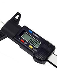Недорогие -Автомобиль 0-25.4 мм цифровая шина тестер глубины протектора шин измеритель измеритель инструмент суппорт жк-дисплей tpms система контроля шин