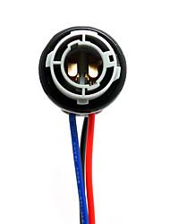 Недорогие -Гнездо шарика автомобиля света соединителя bay15d 1157 автомобильное для шариков водить