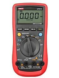 Недорогие -цифровой мультиметр uni-t ut61a высоконадежный профессиональный электрический тестер cd подсветка&усилитель; данные содержат мультитест