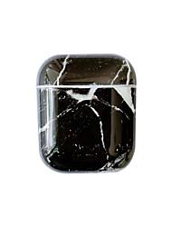 Недорогие -защитный чехол простой стиль симпатичные художественные apple airpods противоударный водонепроницаемый царапинам пластиковый корпус