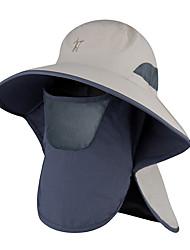 Недорогие -Шляпа для туризма и прогулок 1 ед. Компактность Защита от излучения Защита от комаров Удобный Сплошной цвет Терилен Осень для Муж. Жен. Рыбалка Походы / туризм / спелеология Путешествия