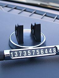 Недорогие -временная карта парковки авто светящиеся номера автомобильные телефонные держатели