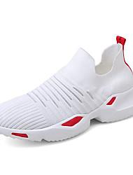 Недорогие -Муж. Легкие подошвы Tissage Volant Весна На каждый день Спортивная обувь Беговая обувь Дышащий Черный / Черно-белый / Белый