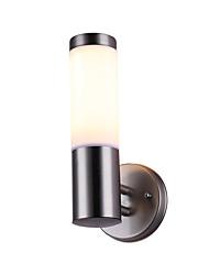 Недорогие -Водонепроницаемый Современный современный Внешние настенные светильники На открытом воздухе / Гараж Металл настенный светильник IP 65 общий 12 W