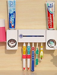 Недорогие -Стакан для зубных щеток Автоматическая чистка Современный современный PP Инструменты Зубная щетка и аксессуары