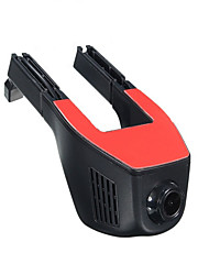 Недорогие -1080p Беспроводной Автомобильный видеорегистратор 170° Широкий угол Нет экрана (выход на APP) Капюшон с WIFI / Ночное видение / Обноружение движения Автомобильный рекордер