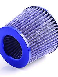 Недорогие -грибовидная головка 76мм с высокой пропускной способностью для очистки воздушного фильтра / автомобильный воздушный фильтр с модифицированным обновлением мощности универсальная грибовидная головка с