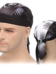 Недорогие -XINTOWN Велосипедная шапочка Skull Caps Шапочки Сделать тряпку Защита от солнечных лучей Устойчивость к УФ Дышащий Защитный Велоспорт Черный Черный / Белый Белый для Универсальные Взрослые