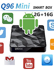 Недорогие -Factory OEMTV BOX X96 mini Android 7.1 Amlogic S905X 2GB 16Гб