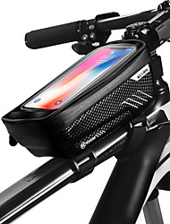 Недорогие -WILD MAN Сотовый телефон сумка Бардачок на раму 6.2 дюймовый Сенсорный экран Водонепроницаемость Водоотталкивающая Велоспорт для iPhone 8 Plus / 7 Plus / 6S Plus / 6 Plus iPhone X