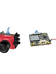 Недорогие -caddx turtle v2 1080p 60fps мини HD fpv камера ж / DVR - красный