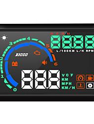 Недорогие -Многофункциональный жидкокристаллический дисплей K9 с дисплеем для определения скорости движения автомобиля в час / км / ч