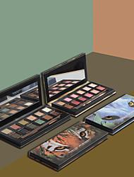 abordables -12 colores Sombras de Ojos Cosméticos / Uso General / Sombra Fácil de llevar / Fácil de Usar / perdurable Larga Duración Tono de Piel Desigual Casual / Diario Maquillaje de Diario / Maquillaje de