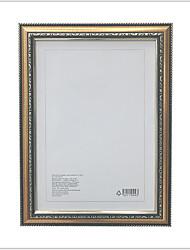Недорогие -Офисный деревянный Окрашенные отделки Рамки для картин, 2pcs