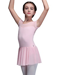 tanie -Dziecięca odzież do tańca / Balet Body Dla dziewczynek Szkolenie Poliester Materiały łączone Trykot opinający ciało / Śpiochy dla dorosłych