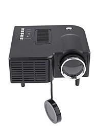 Недорогие -uc28 универсальный 400 люмен hd 400 люмен мультимедийный светодиодный проектор бытовой поддержки 60-дюймовый большой проекционный экран