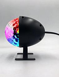 Недорогие -Brelong светодиодный свет диско свет этапа DJ диско шар свет лазерный проектор эффект света Рождественская вечеринка ЕС