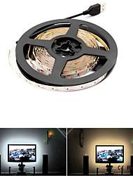 Недорогие -Loende 5 В USB 5 М светодиодные полосы света RGB / белый / теплый белый 2835SMD HDTV ТВ настольного ПК подсветка экрана&усилитель; смещение освещения