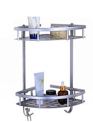 Недорогие -Полка для ванной Многофункциональный Modern Нержавеющая сталь 1шт - Ванная комната Двуспальный комплект (Ш 200 x Д 200 см) На стену