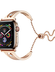 cheap -Watch Band for Apple Watch Series 4/3/2/1 Apple Jewelry Design Stainless Steel Wrist Strap