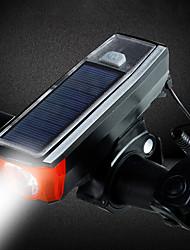 Недорогие -Светодиодная лампа Велосипедные фары Передняя фара для велосипеда Внешний аккумулятор Велосипедный рог Горные велосипеды Велоспорт Водонепроницаемый 3 в 1 Несколько режимов 350 lm USB