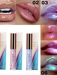 Недорогие -марка днм блестящий увлажняющий блеск для губ сверкающий кристалл русалка пигмент поляризованный жидкий бальзам для губ макияж