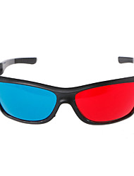 Недорогие -3D очки Поликарбонат красный / синий Виртуальные очки реальности VR Овал PC (поликарбонат)