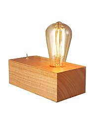 Недорогие -настольные лампы деревянные настольные светильники настольные светильники в форме куба современные простые настольные светильники деревянные американские простота прикроватное освещение
