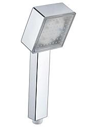Недорогие -светодиодная насадка для душа смена цвета 2 водный режим 7 цвет свечения автоматически меняющаяся ручная насадка для душа