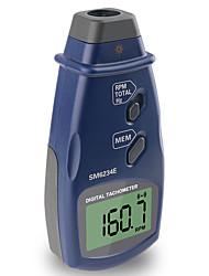 Недорогие -ручной бесконтактный фотоэлектрический профессиональный лазерный тахометр rpm метр цифровой тахометр sm6234e