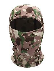 Недорогие -WOSAWE Велосипедная шапочка Подшлемник Спортивная маска bivakmutsen камуфляж С защитой от ветра Защита от солнечных лучей Быстровысыхающий Воздухопроницаемость Велоспорт Желтый Зеленый Розовый для