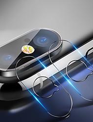 Недорогие -Защитная пленка для экрана Apple Iphone XS / Iphone XR / Iphone XS Max / X закаленное стекло 1 шт. Защитная пленка для объектива камеры высокого разрешения (HD) / 9h твердость / взрывозащищенный