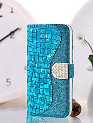 Недорогие -Кейс для Назначение SSamsung Galaxy S9 / S9 Plus / S8 Plus Кошелек / Бумажник для карт / Защита от удара Чехол броня Твердый Кожа PU