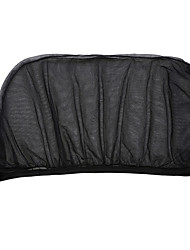 Недорогие -Автомобиль солнцезащитный козырек заднее боковое окно солнцезащитный козырек сетка ткань солнцезащитный козырек защитная крышка защитный уф-протектор черный авто навес от солнца