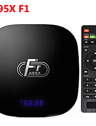 Недорогие -A95X F1 Smart Android 8.1 ТВ-бокс 2 ГБ 16 ГБ 2,4 г Wi-Fi Amlogic S905W четырехъядерный медиа-плеер YouTube HD установить Smart TV Box