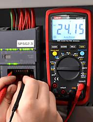 Недорогие -uni-t ut139c истина rms цифровой мультиметр автоматический тестер диапазона 6000 отсчетов вольтметр тестер сопротивления тестер температуры