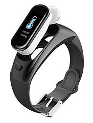 Недорогие -H109 2-в-1 спортивные смарт-часы Bluetooth беспроводные наушники сердечного ритма артериального давления напоминание водонепроницаемая смарт-группа