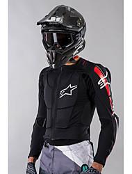 billige -alpinestars bionic plus beskyttelsesjakke sort - rød - hvid / motorcykel tøjjakke