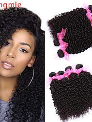 voordelige -6 bundels Braziliaans haar Body Golf Onbehandeld haar Menselijk haar weeft Bundle Hair Een Pack Solution 8-28inch Natuurlijke Kleur Menselijk haar weeft Geurvrij Cool onverwerkte Extensions van echt