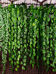 Недорогие -Искусственные Цветы 1 Филиал Классический С креплением на стену подвешенный Вечеринка Свадьба Pастений Цветы на стену