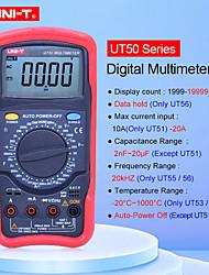 Недорогие -цифровой мультиметр ut55 1000 В 20a дм / вольт / вольтметр сопротивление диод температуры тестер ручной мультиметр тестер