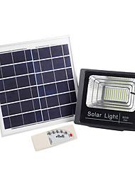 Недорогие -1шт 60 W LED прожекторы / Внешние настенные светильники / Солнечный свет стены Водонепроницаемый / Дистанционно управляемый / Работает от солнечной энергии Белый 3.2 V